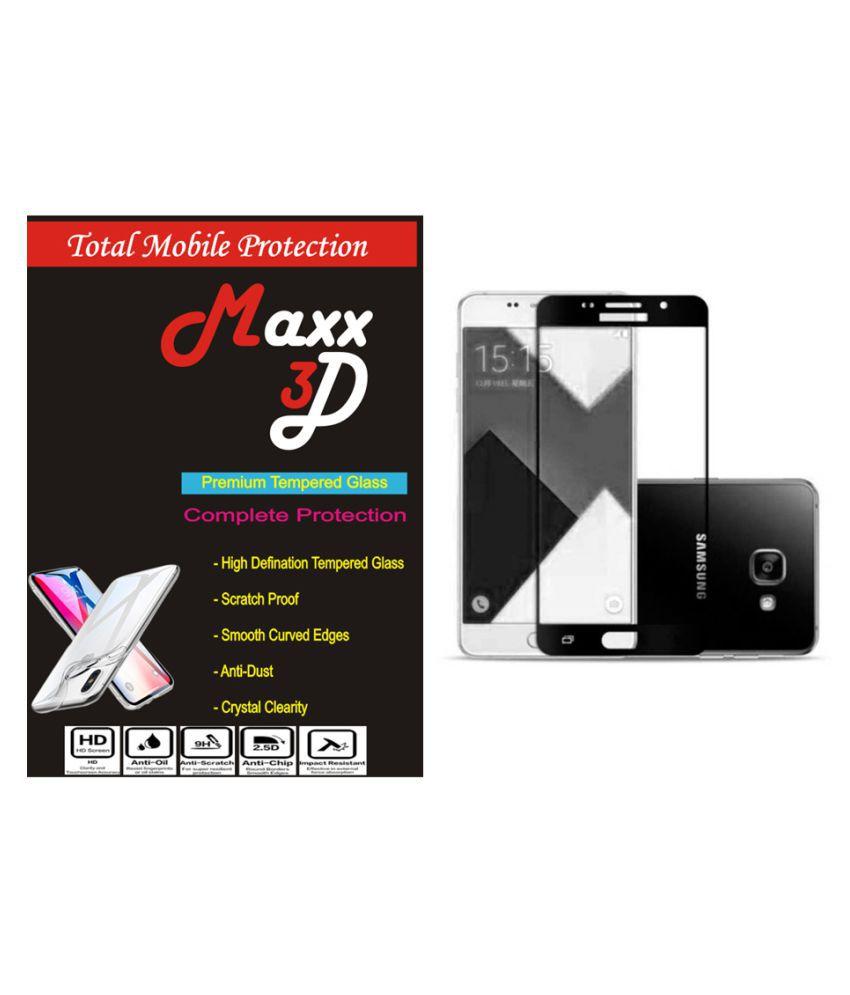 Samsung Galaxy A7 Tempered Glass Screen Guard By MAXX3D