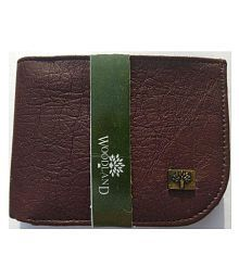 Woodland Imports PU Brown Casual Short Wallet
