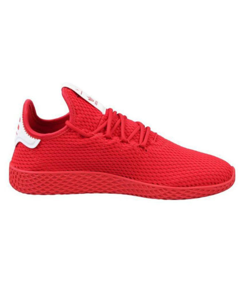 d2514a7e87e Adidas Pharrell Williams Sneakers Red Training Shoes - Buy Adidas ...