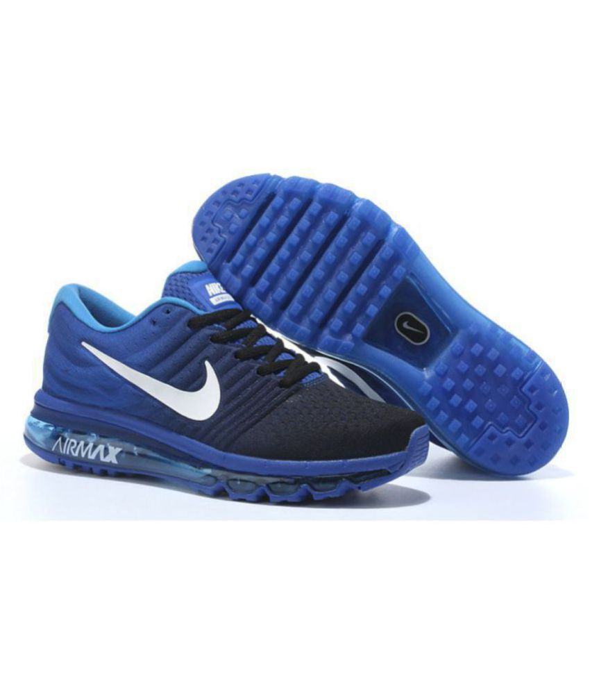 Nike AIRMAX 2017 ALL COLOUR Blue Running Shoes - Buy Nike AIRMAX 2017 ALL  COLOUR Blue Running Shoes Online at Best Prices in India on Snapdeal 436580e99