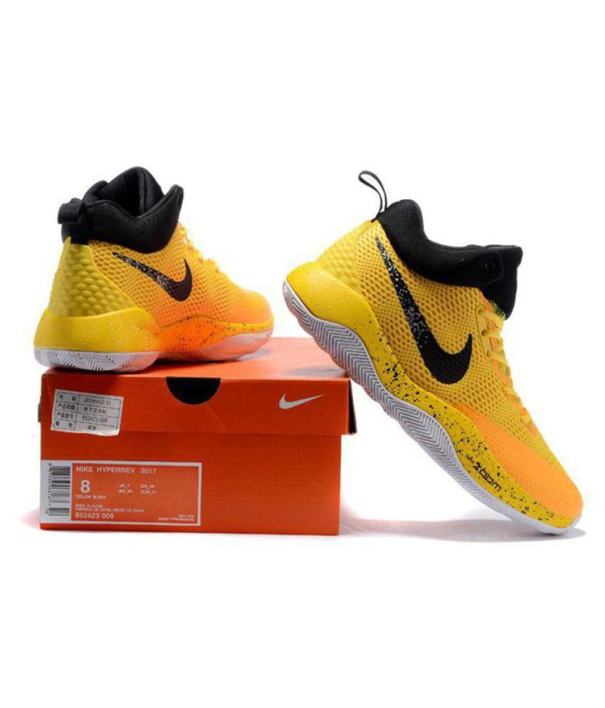 Nike Zoom Rev Yellow Running Shoes