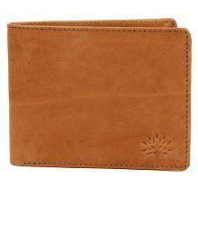 Woodland PU Beige Casual Regular Wallet
