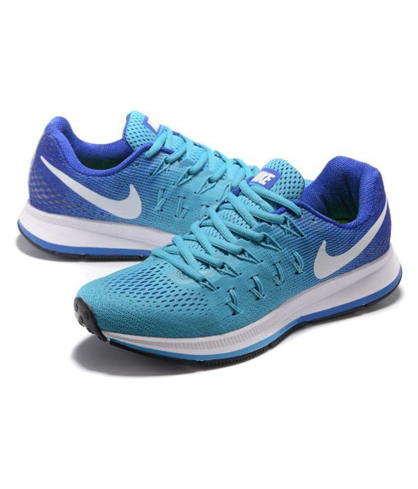 online store fba0a 16ac0 Nike Air NIKE Pegasus 33 Sky Blue Running Shoes - Buy Nike Air NIKE Pegasus  33 Sky Blue Running Shoes Online at Best Prices in India on Snapdeal
