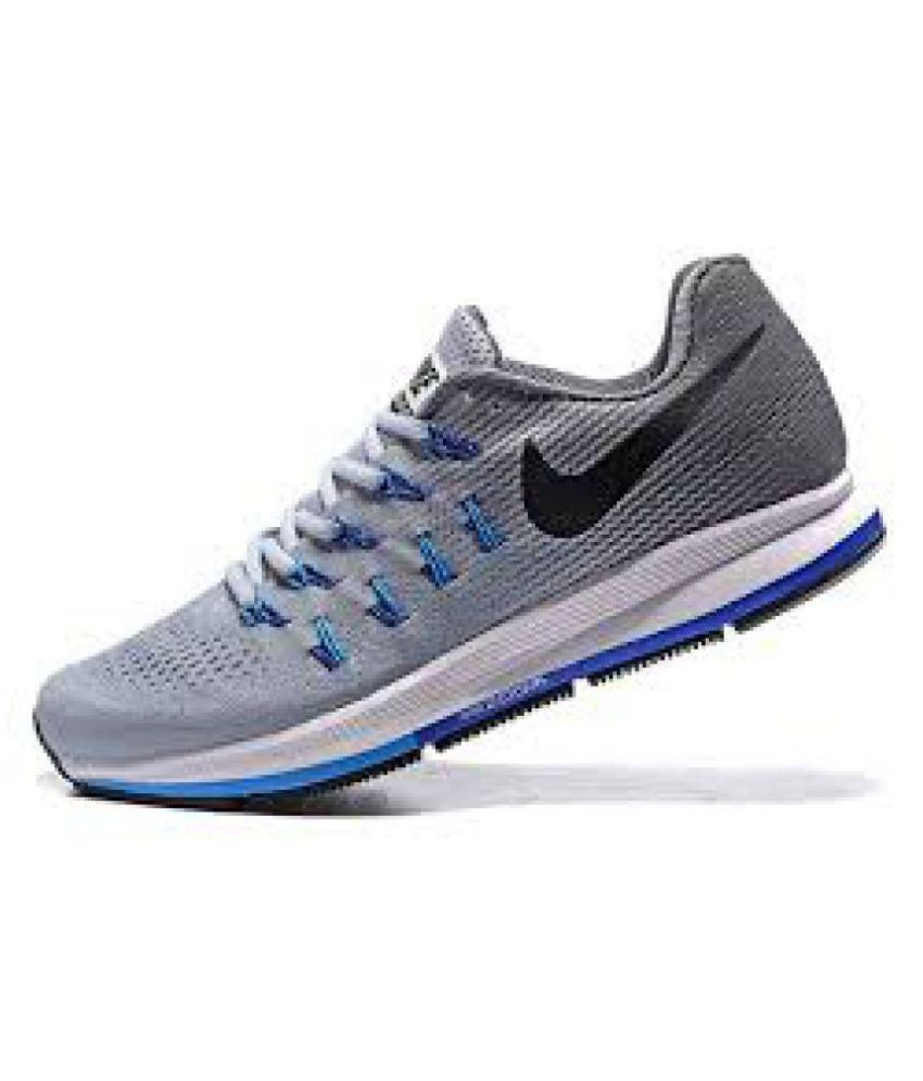 Zoom 33 Shoes Running Pegasus Air Gray Buy Nike AqSB51wS
