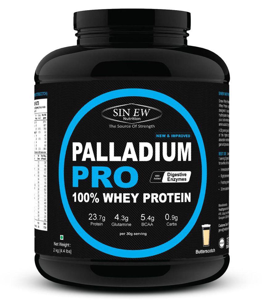 Sinew Nutrition Palladium Pro Whey Protein - Butterscotch, 2 kg