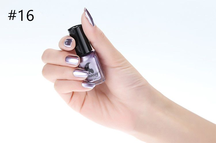 Miss Rose Nail Polish #16 As Picure Metallic 30g gm