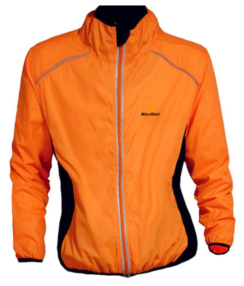 Changing Destiny Polyester Short Rainwear - Orange