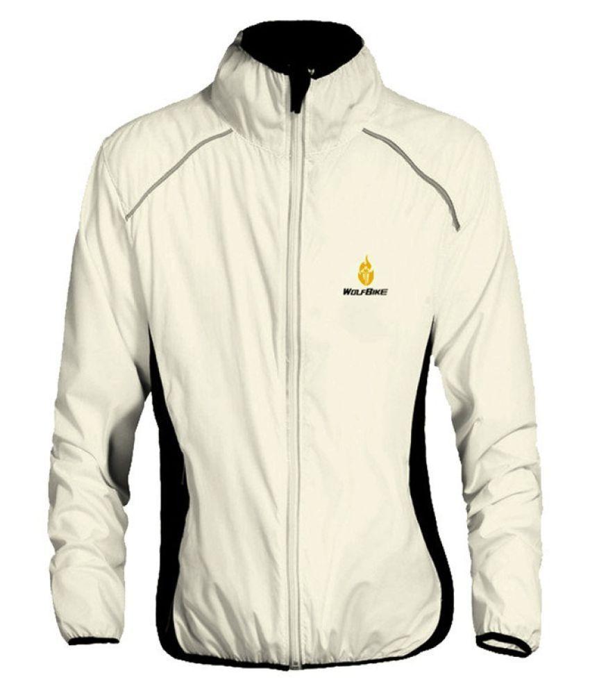 Changing Destiny Polyester Short Rainwear - White