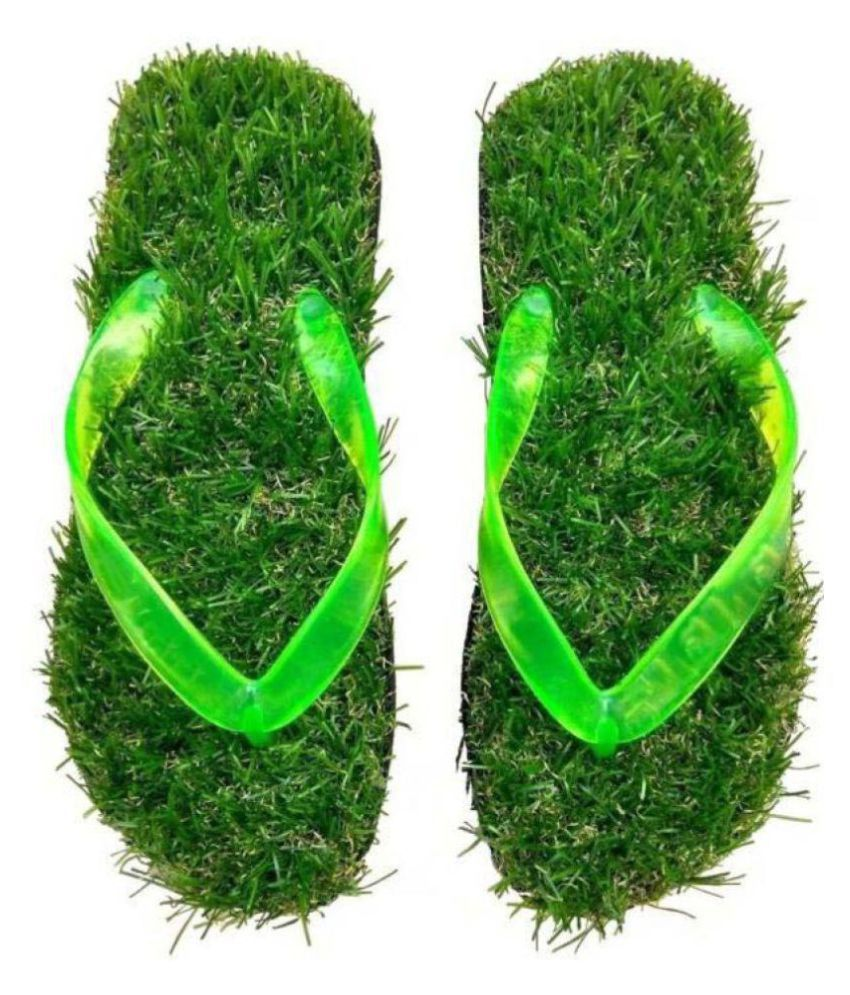 Sachin Traders Green Daily Slippers