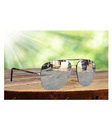LACOSTE SUNGLSS Silver Aviator Sunglasses ( L1027 )