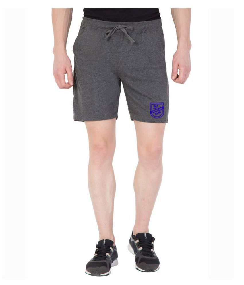 American-Elm Grey Shorts