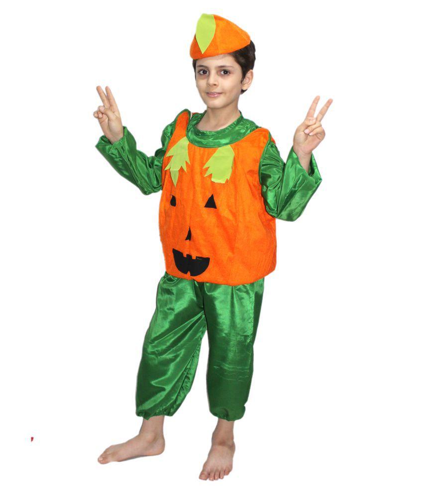 0d0586e2b05 Kaku Fancy Dresses Pumpkin fancy dress for kids,Vegetables Costume ...