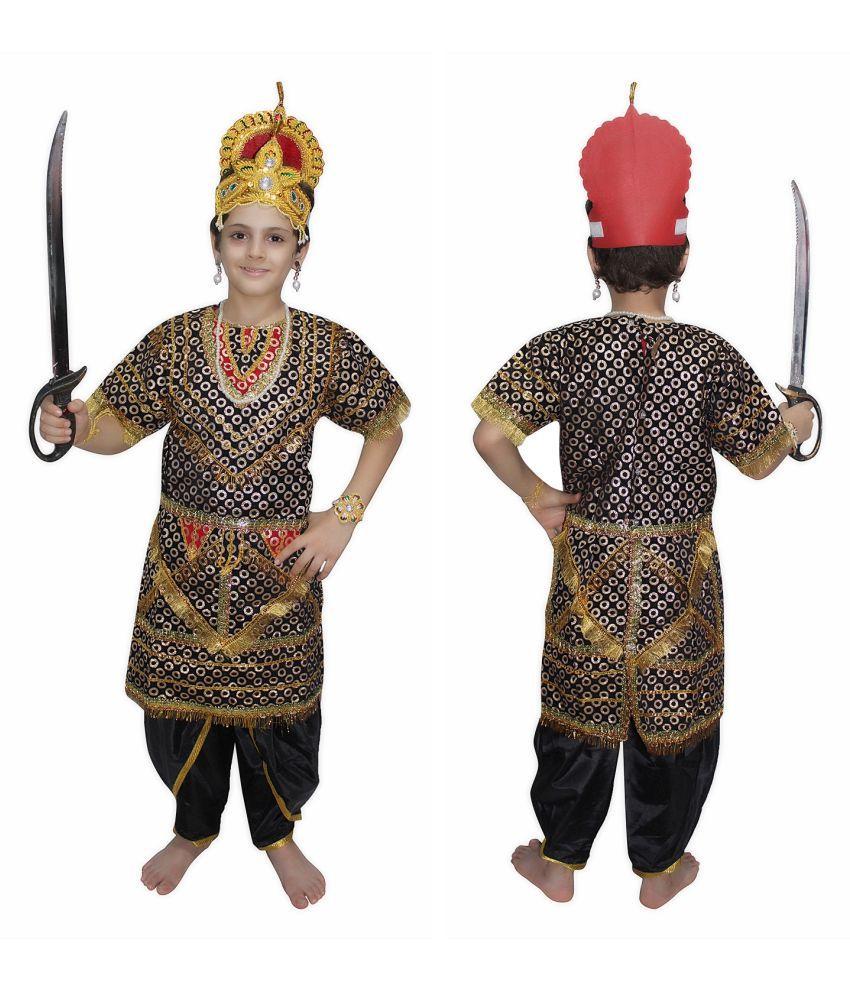 Kaku Fancy Dresses Ravan Gown fancy dress for kids,Ramleela/Dussehra ...