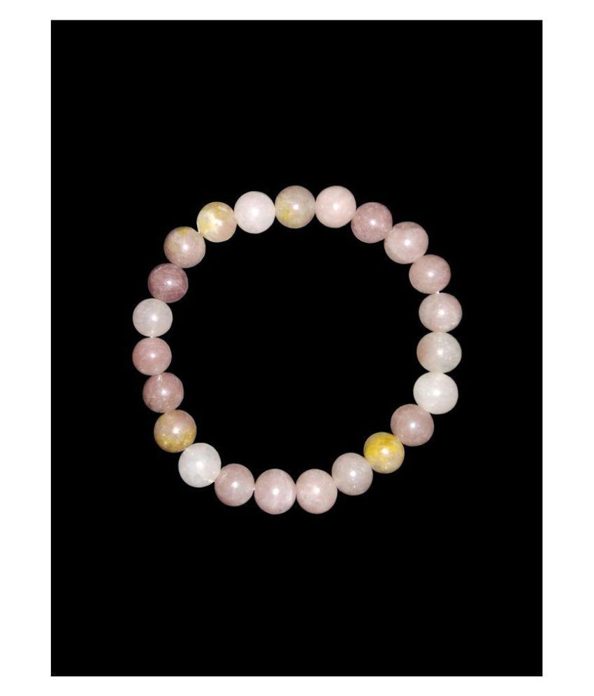 Natural Sun Stone 8mm bead size bracelet for men and women