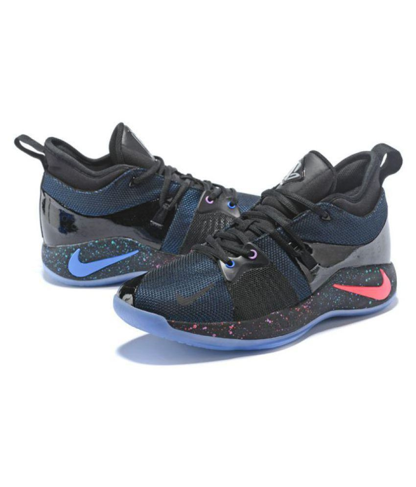 99f33fb8b6b5 Nike PG 2 2018 LIMITED Black Basketball Shoes - Buy Nike PG 2 2018 LIMITED  Black Basketball Shoes Online at Best Prices in India on Snapdeal