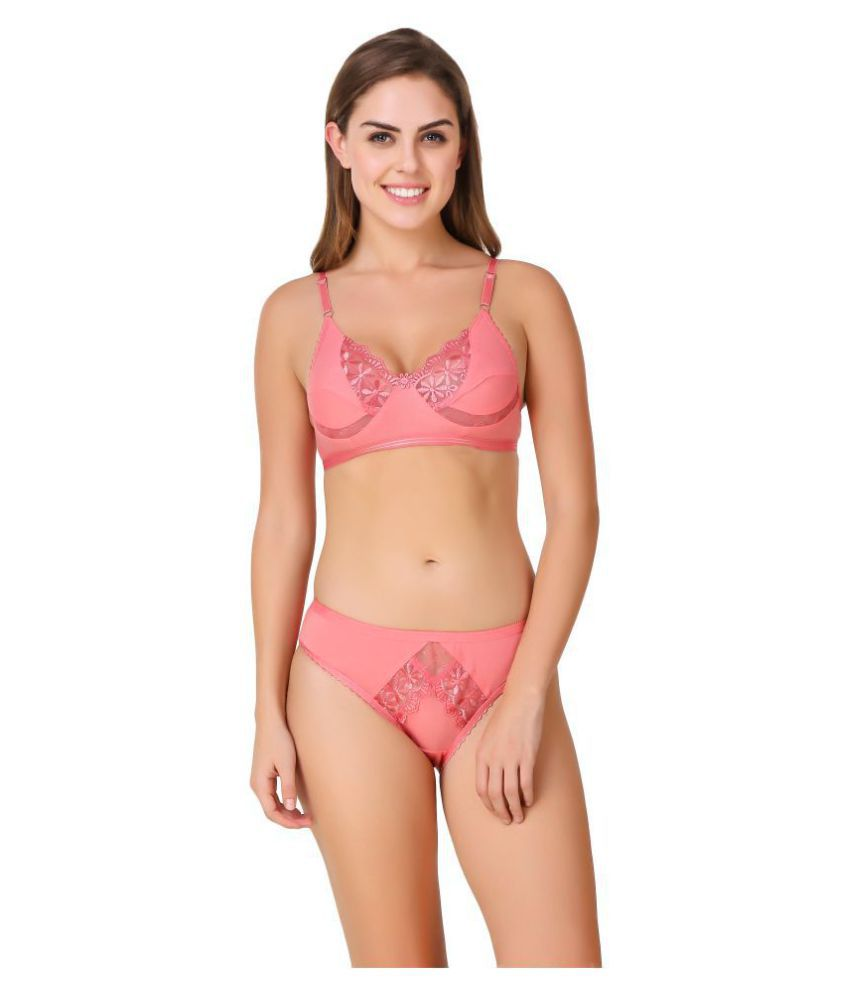 276d8c1738 Buy IN BEAUTY Cotton Lycra Push Up Bra Online at Best Prices in ...