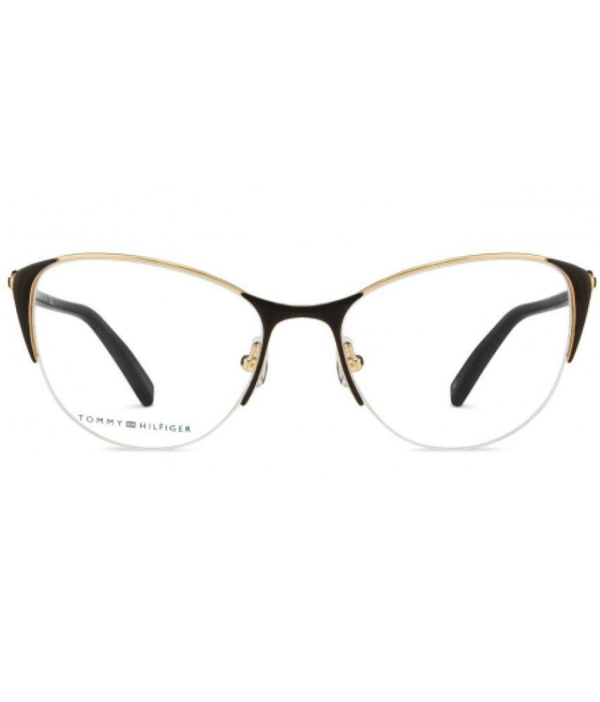 Tommy Hilfiger Black Oversized Spectacle Frame TH6122 - Buy Tommy ...