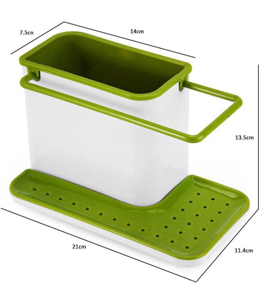sink xx cm caddy  dishwasher liquid brush sponge soap holder assorted