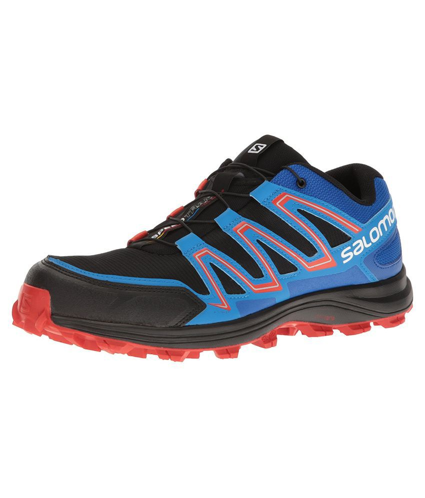 finest selection 3e928 4e7d6 Salomon Speedtrak Black Running Shoes