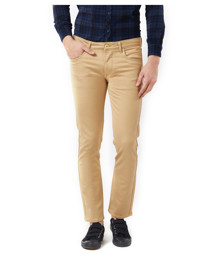 KILLER Beige Slim Jeans