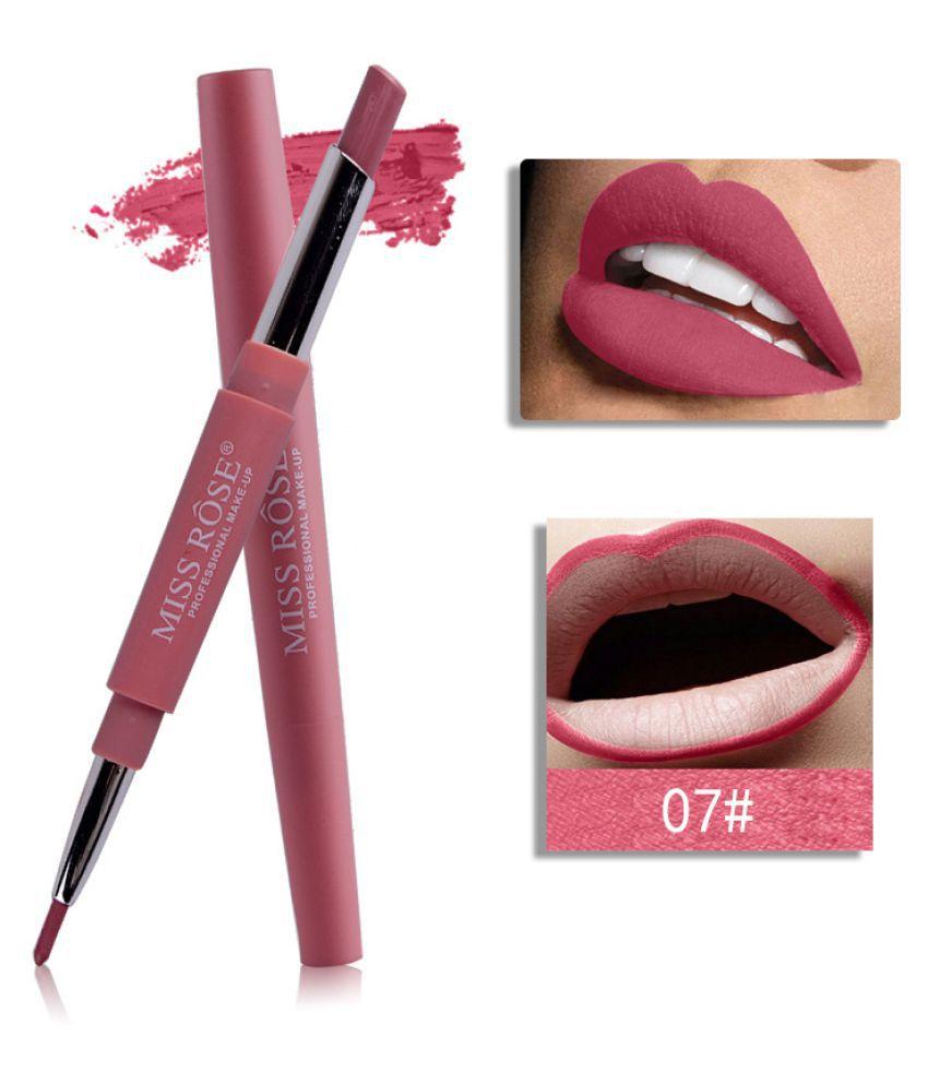 Miss Rose kachabros Miss Rose Lipstick 7# Matte Deep Pink SPF 25 20 gm