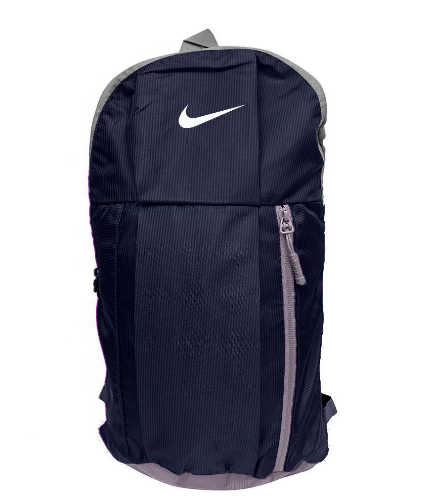 Nike Bag Nike Backpack College Bag College Backpack School Backpack School  Bag- Navy Blue Color (15 Ltrs ) - Buy Nike Bag Nike Backpack College Bag  College ... e572a503b565