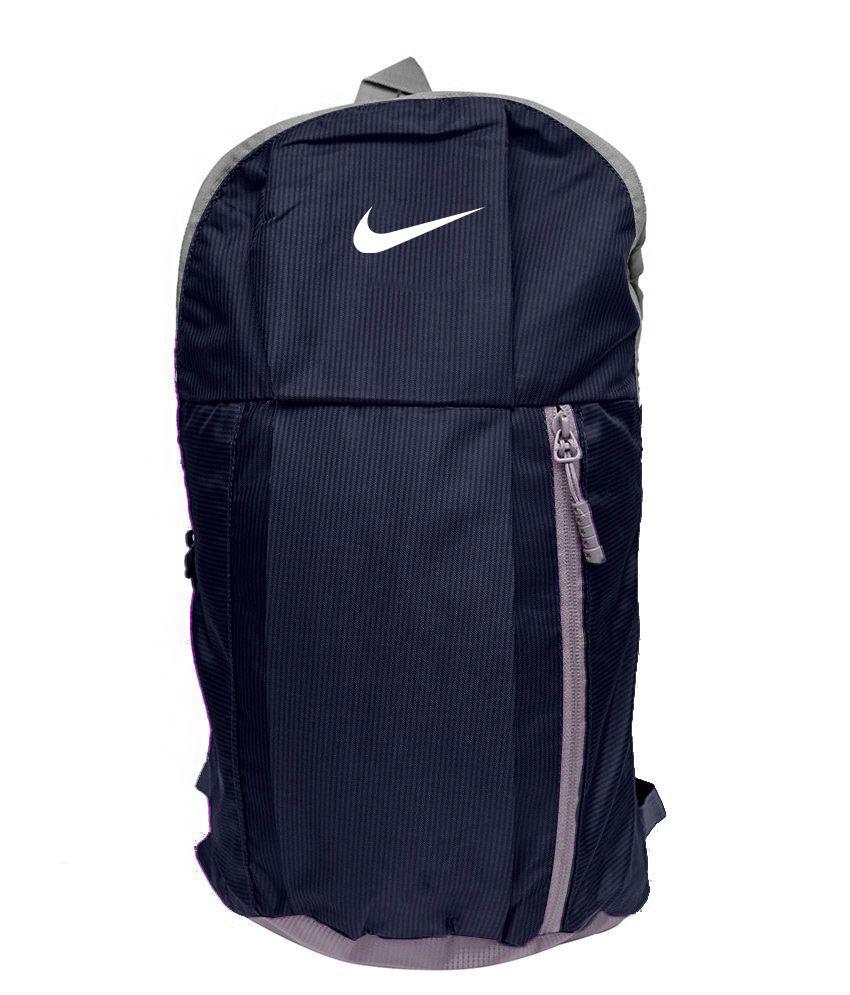 Nike Bag Nike Backpack College Bag College Backpack School Backpack School  Bag- Navy Blue Color (15 Ltrs ) - Buy Nike Bag Nike Backpack College Bag  College ... 0dd5b820d0fd