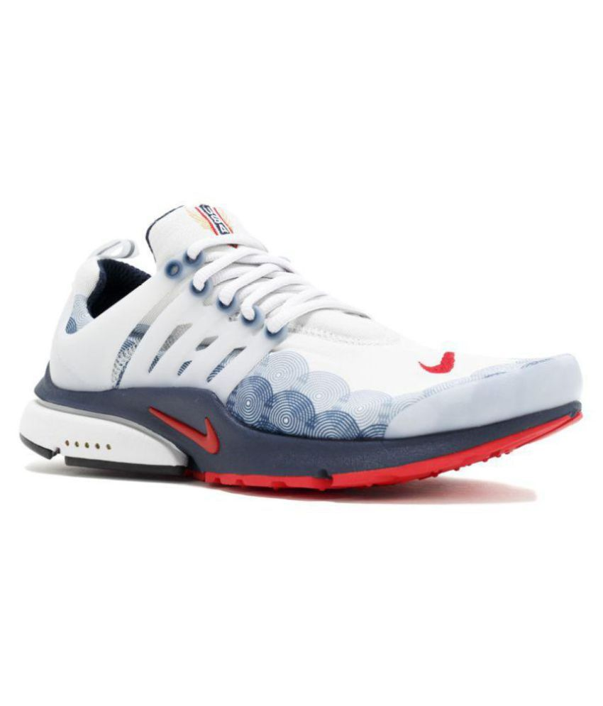 2d7265e09834 Nike Air Presto Olympic USA White Running Shoes - Buy Nike Air ...