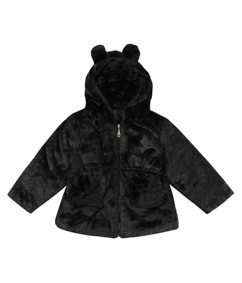 Changing Destiny Faux Fur Fleece Lined Coat Kids Winter Warm Jacket