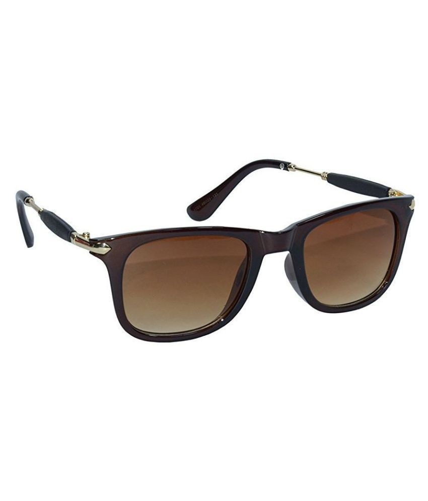 Krishna Fashion Brown Wayfarer Sunglasses ( RB-013 )