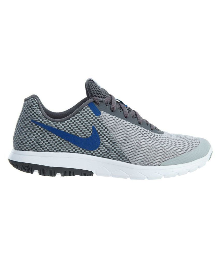 Nike FLEX EXPERIENCE RN 6 Grey Running Shoes - Buy Nike FLEX ... 39d0b2f16