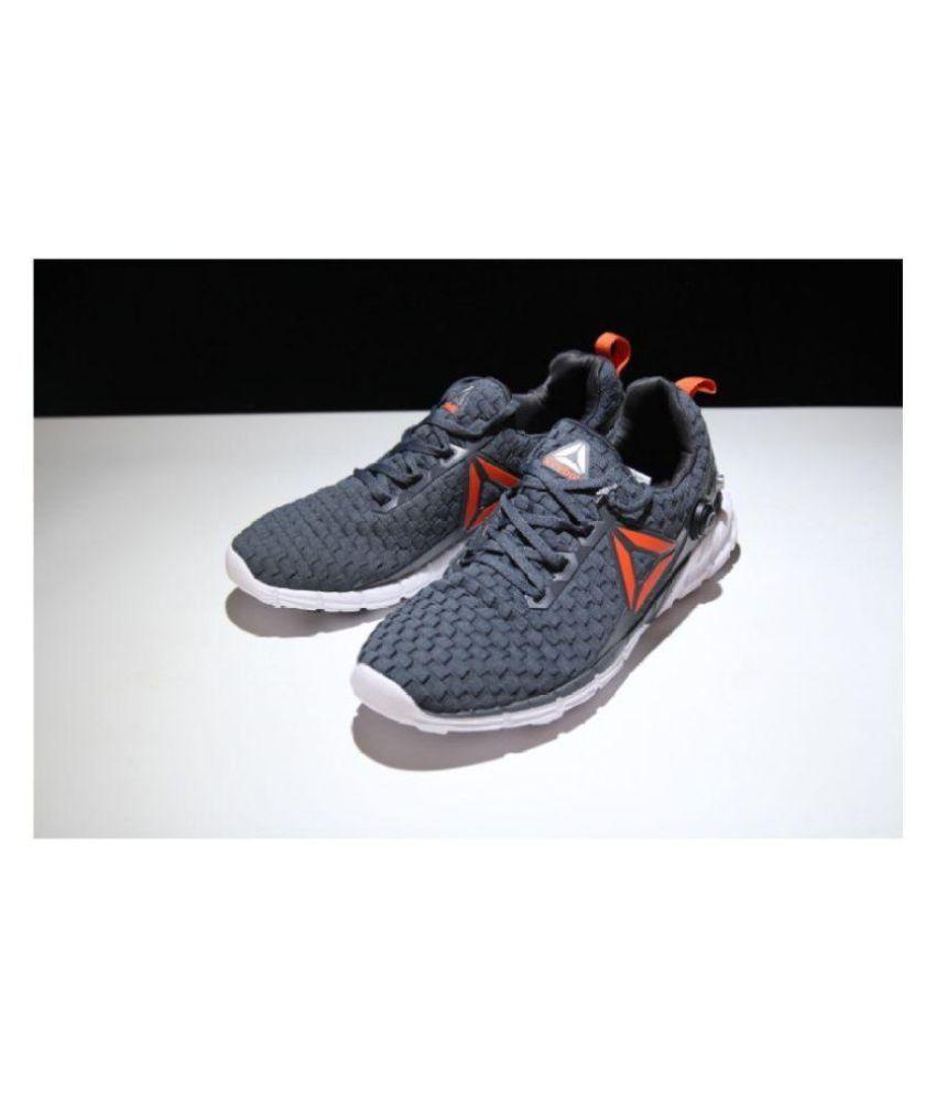 b3378e68c4ce7 Reebok ZPUMP FUSION 2.0 Gray Running Shoes - Buy Reebok ZPUMP FUSION ...