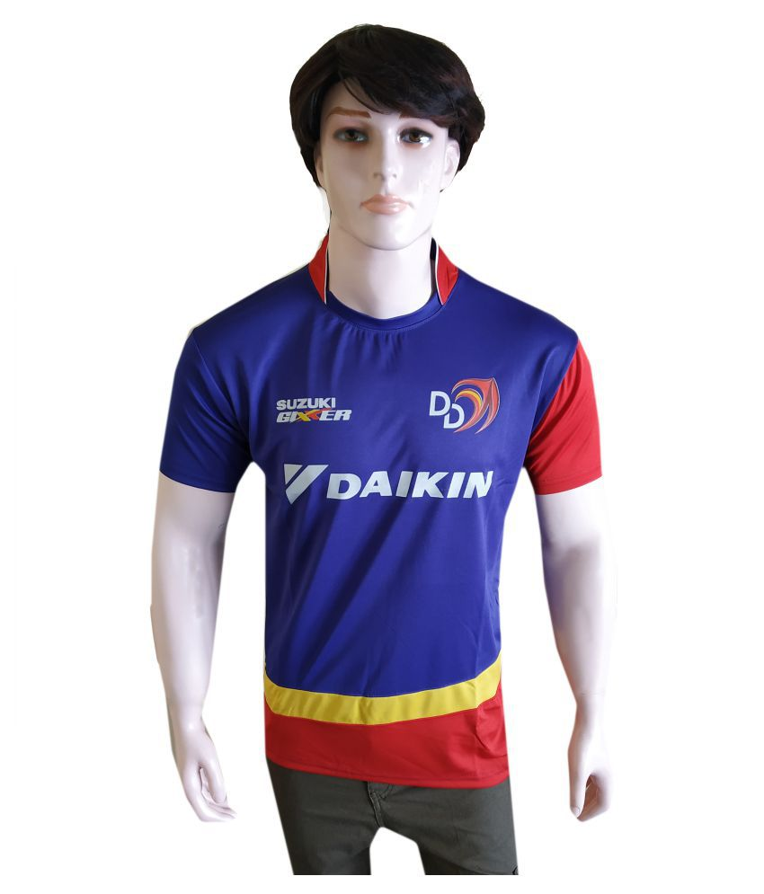 Uniq Products Blue Polyester Jersey