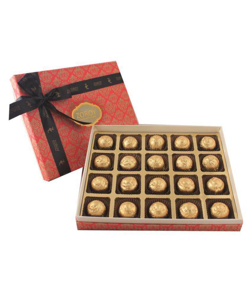 Zoroy Luxury Chocolate Sugarless Assorted Box 240 gm