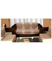 Quick View. Aashiyana Sajona 5 Seater Jacquard Set Of 10 Sofa Cover Set