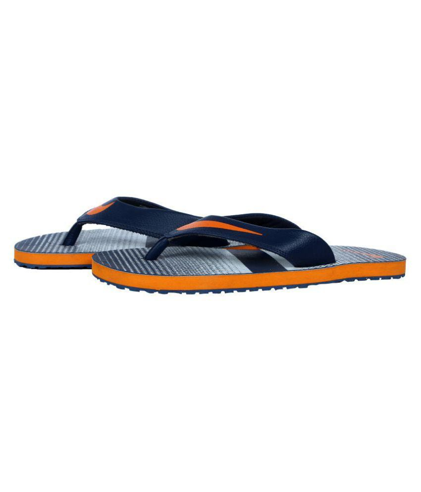 outlet store 1485e d9396 Nike thong 10 Multi Color Leather Slippers