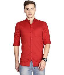 Signature Red Slim Fit Shirt