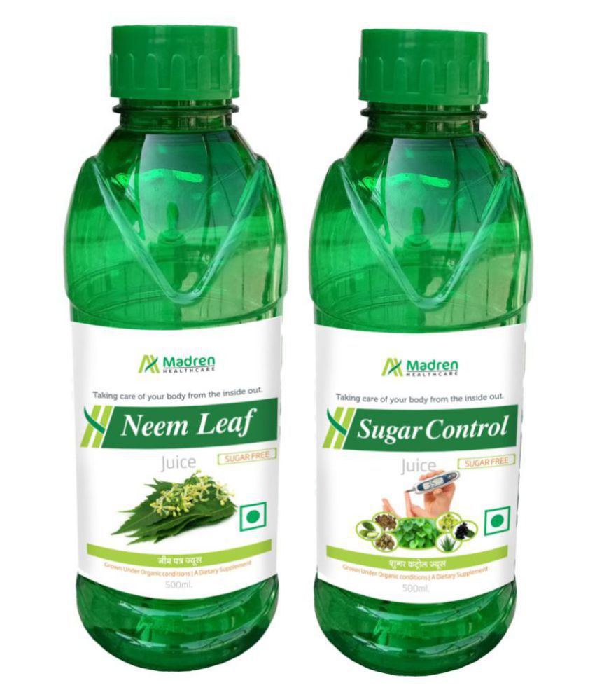 Madren Healthcare Neem & Sugar Control Juice Health Drink 1000 ml