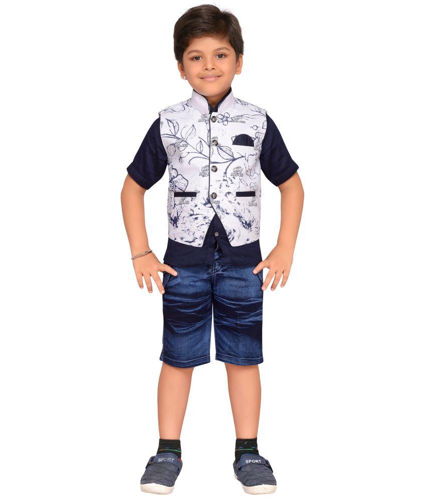 07e7b15ad3e1 AJ Dezines Kids Party Wear Shirt