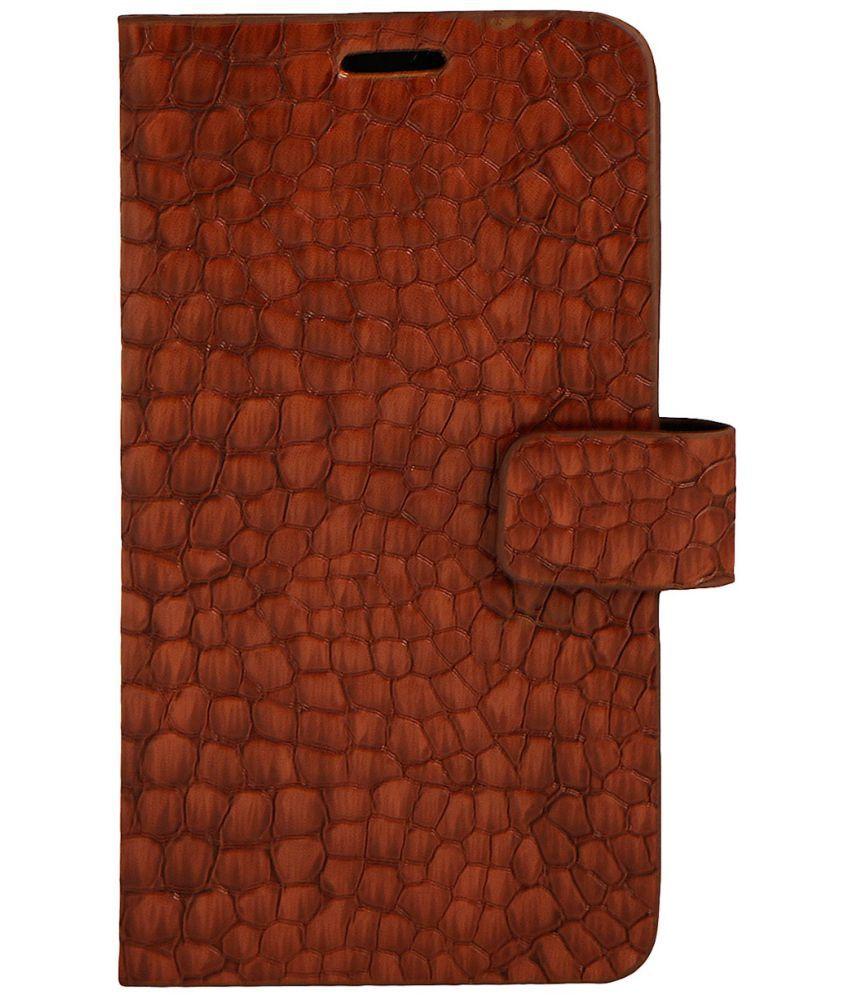 HTC U Flip Cover by Zocardo - Brown