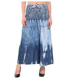 06fb8617b2 Denim Skirt: Buy Denim Skirt Online at Best Prices in India - Snapdeal