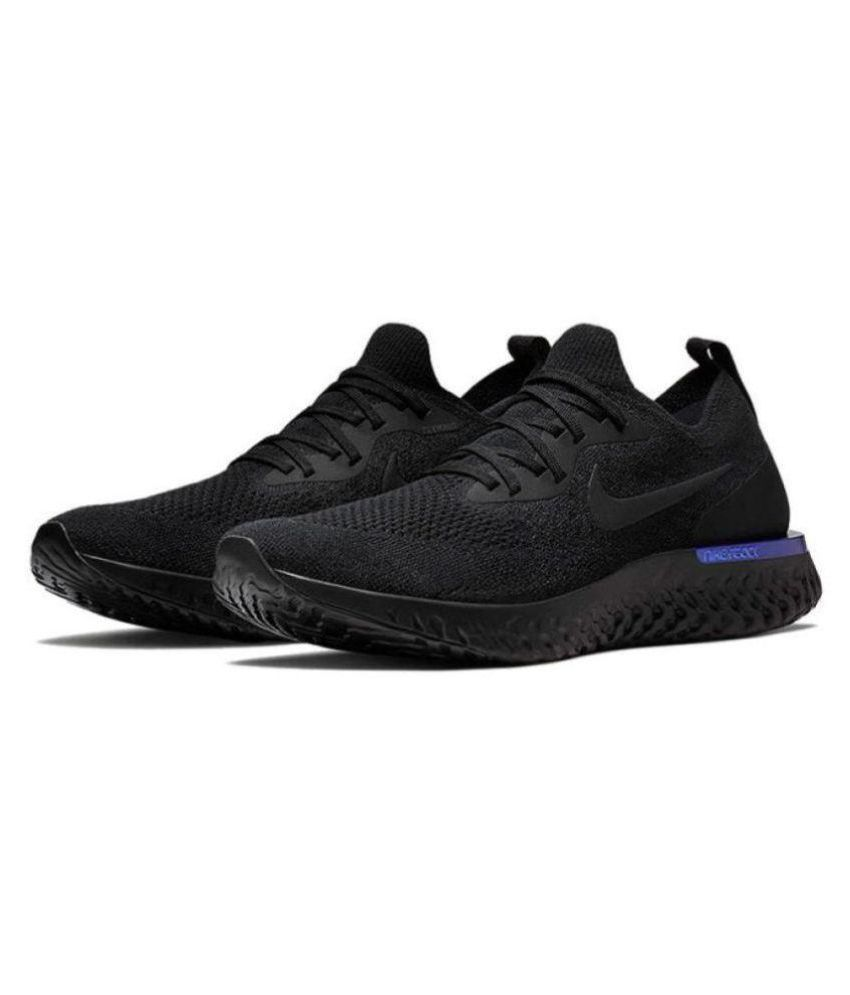 Nike Black Running Shoes Price in India