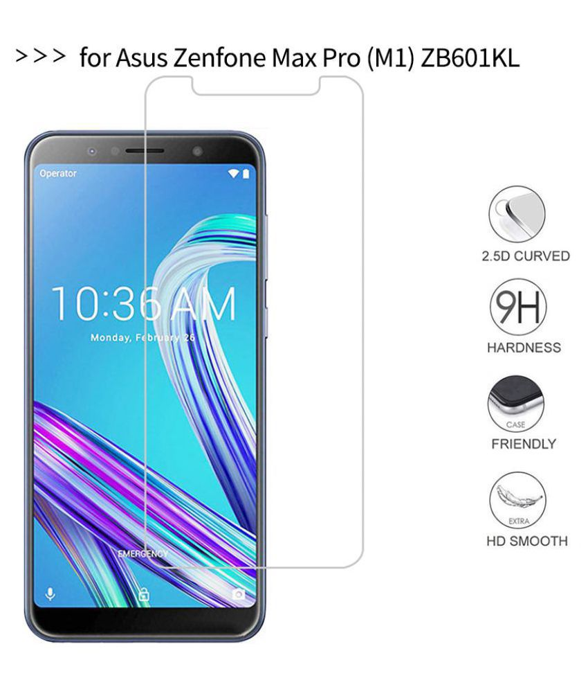 Asus Zenfone Max Pro M1 Tempered Glass Screen Guard By Spectacular Ace