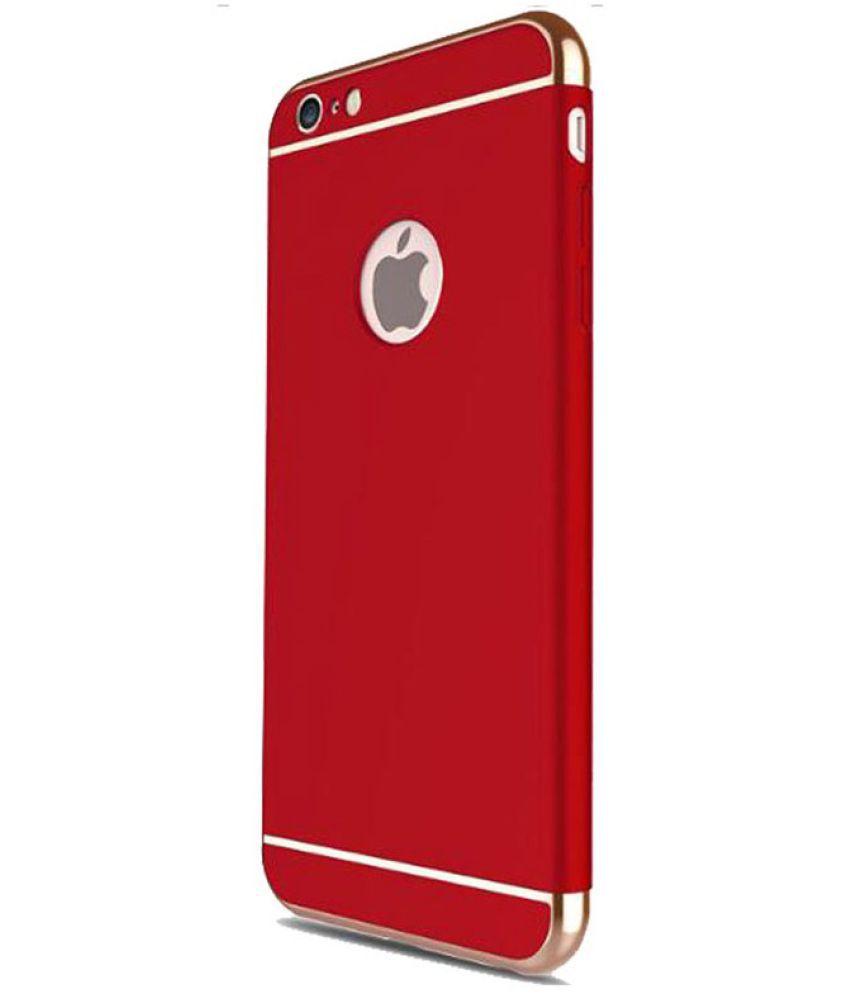 Redmi 5 Plain Cases JKR - Red