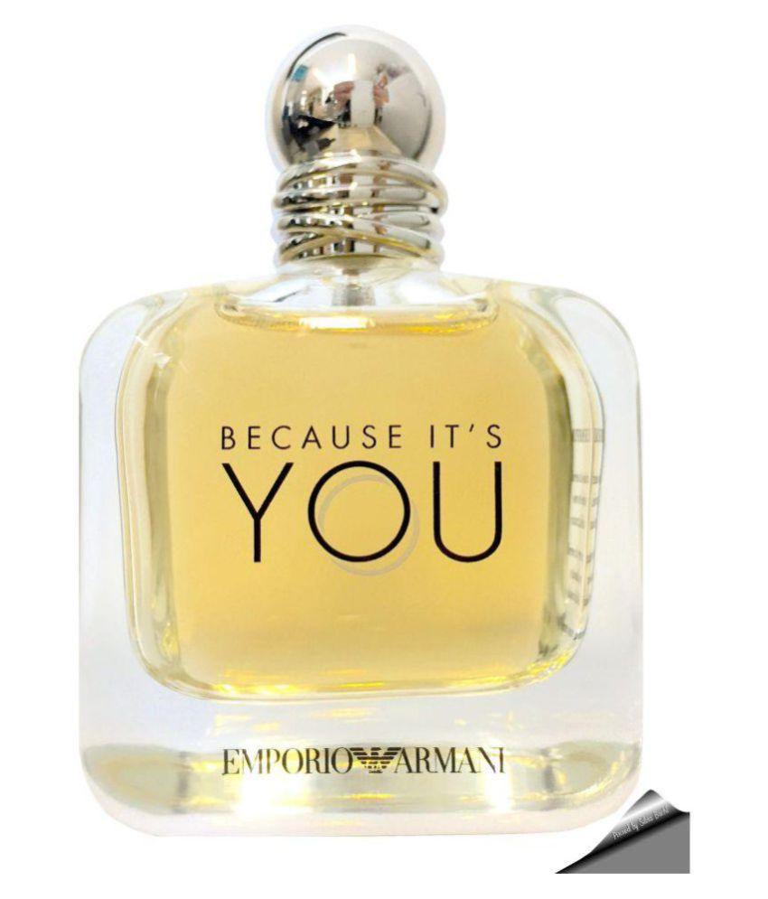 Spray It's 100ml For Edp Perfume You Because Armani Emporio Women FTJlKuc13