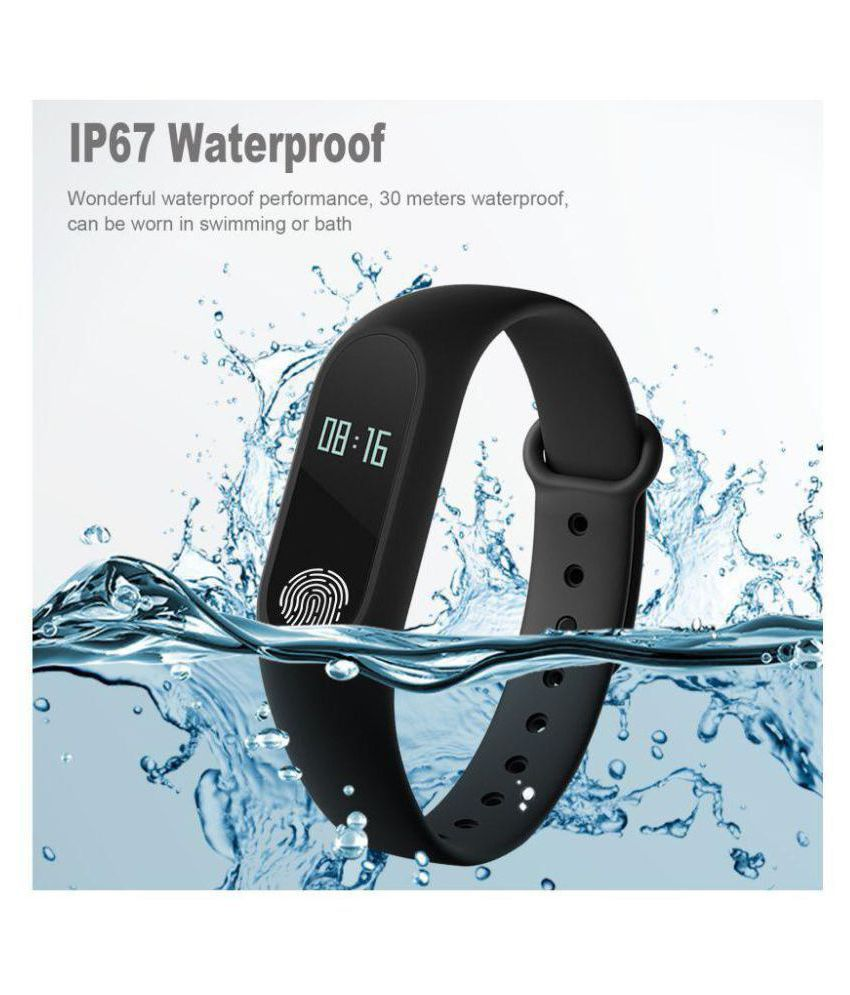 HuntDeal  M-2 Waterproof Heart Monitoring Fitness Smart Band (Compatible with all Android & IOS Devices)