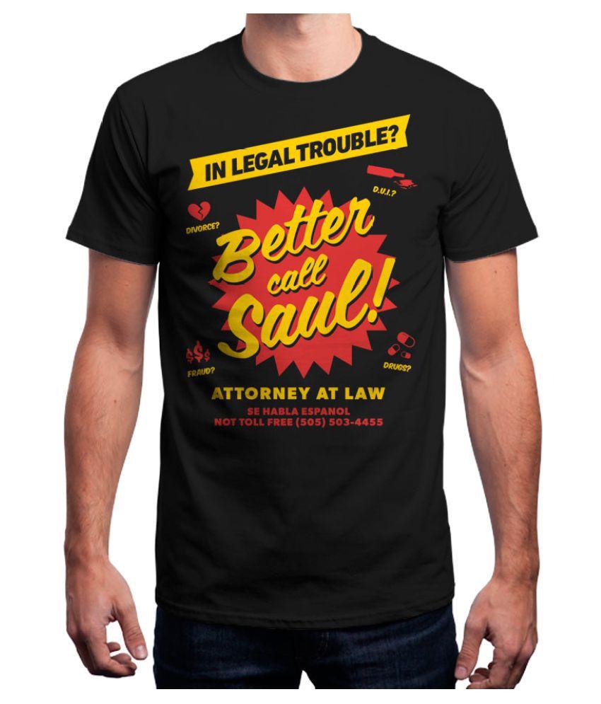 Redwolf Black Round T-Shirt