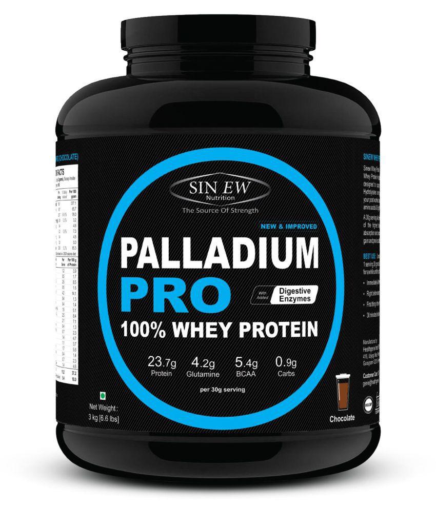 Sinew Nutrition Palladium Pro Whey Protein - Chocolate, 3 kg