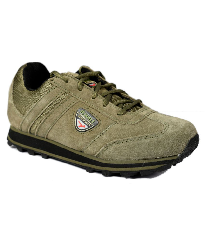 Lakhani Touch Running Shoes Olive