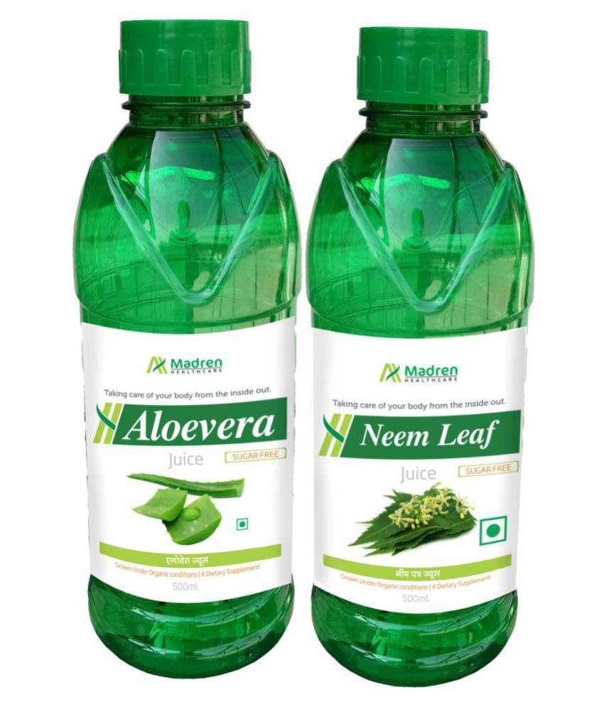 Madren Healthcare Aloevera & Neem Juice Health Drink 1000 ml